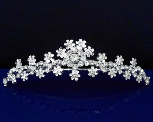 SC Tiara Comb With Three-Crystal Center 57235 by - Center Shopping Hilltop