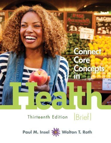 Connect Core Concepts in Health, Brief, 13th Edition