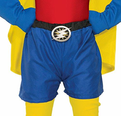 Forum Novelties Child Super Hero Boxer Shorts, Blue
