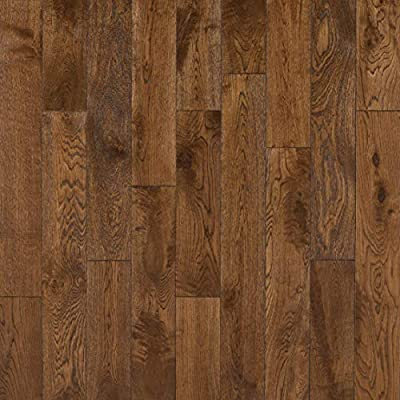 VIF International Limited French Oak Cognac 5/8 in. Thick x 4-3/4 in. Wide x Varying Length Click Solid Hardwood Flooring (15.