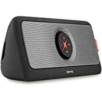 Bluetooth Speakers, Alpatronix AX440 30W Ultra Portable Bluetooth Wireless Stereo HD Speaker w/ Loud, Powerful Bass, USB Flash Drive Support & PowerBank Perfect for Beach, Pool, Golf & Home - Black
