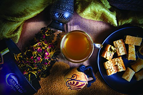 Pure Ceylon Tea - Mabroc Arabian Nights Blended Tea - 25 Tea Bags (Blended Tea Teas Ceylon)