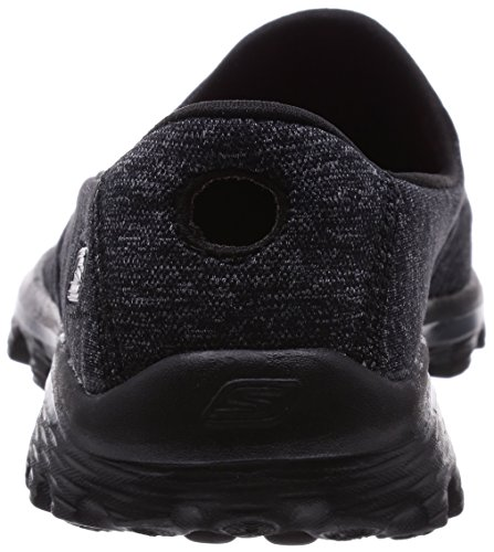 Super Nero Gowalk 2 Donna Sock Skechers Stivaletti FE6wU4