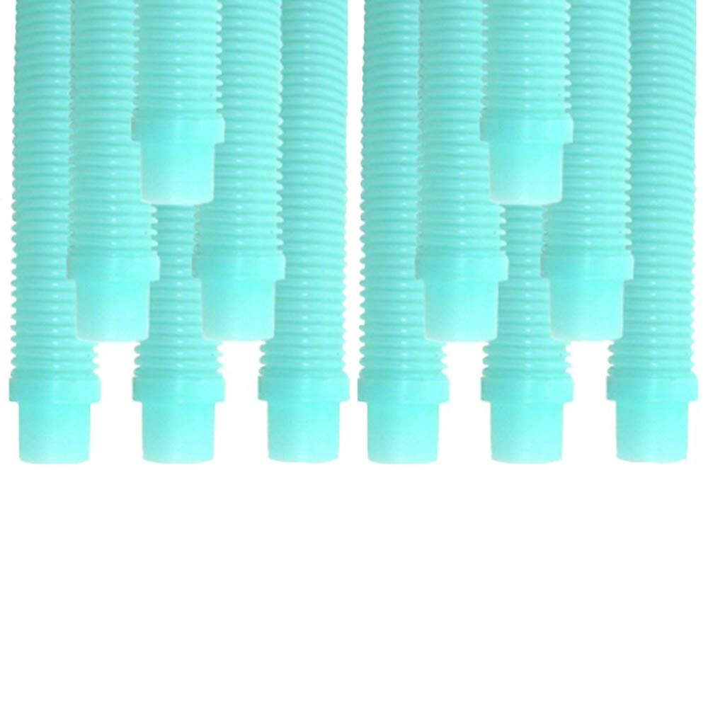 "Puri Tech Kreepy Krauly (Universal 1"") 40"" Pool Cleaner Hose-Aqua 12-Pack"