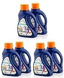 Febreze pbsgI Laundry Fabric Odor Eliminator Detergent Refresher, Fresh Scent, 50 Fluid Ounce (Pack of 6)