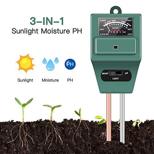 Soil Moisture Sunlight Ph