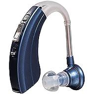 "Britzgo Digital Hearing Aid Amplifier Bha-220, 500hr Battery Life,""fda Approved"", Blue, Blue, 5 Ounce"