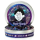 Crazy Aaron's Thinking Putty, Liquid Motion Bubbler, Tangle Jr. - 3 Pack Sensory Processing Toys