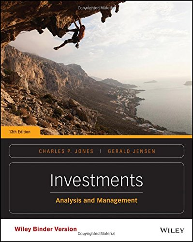 Investments, Binder Ready Version: Analysis and Management by Wiley