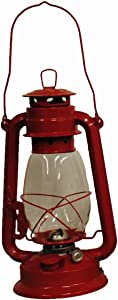 Shop4Omni Red Hurricane Kerosene Oil Lantern Emergency Hanging Light/Lamp - 12 Inches