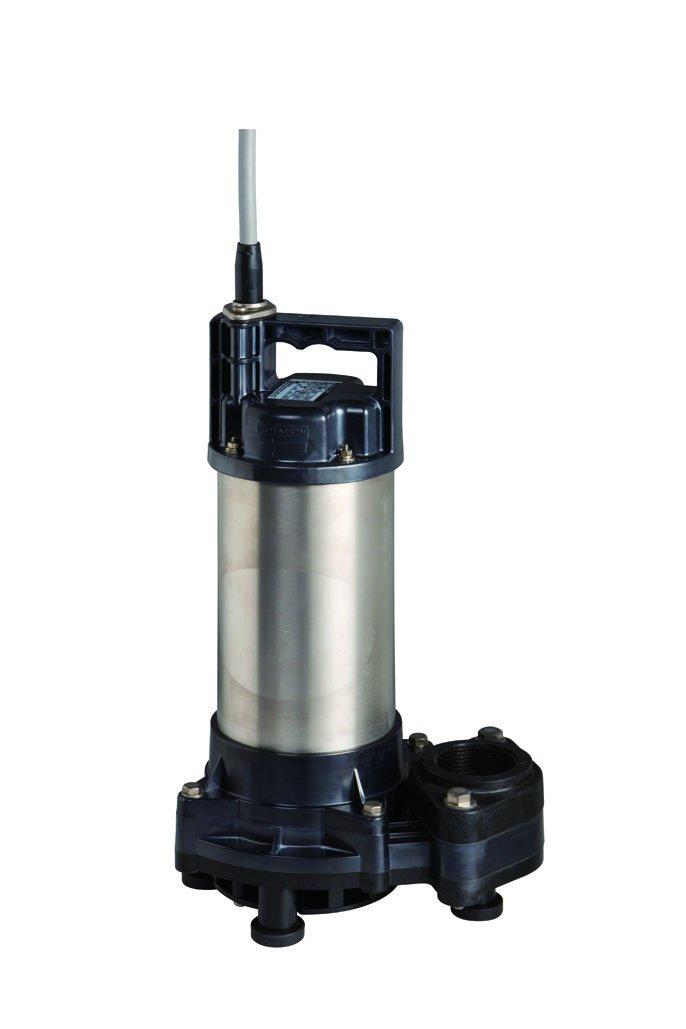 荏原製作所 ダーウィンシリーズ DWT型 チタン樹脂製海水用水中ポンプ 接続口径50A ねじ込み接続 単相100V 非自動型50Hz専用 型式:50DWT5.4SB B00UKSCHX0 50DWT5.4SB 50DWT5.4SB