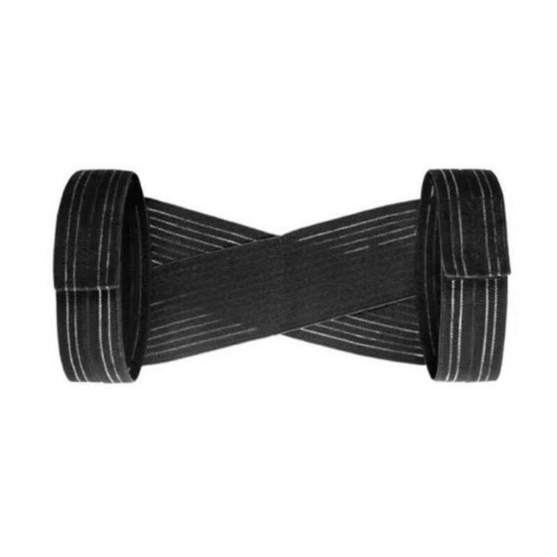 VWH Einstellbare Körperhaltung Korrektor Rückenstütze Entlastet Nacken Rücken Band (L)