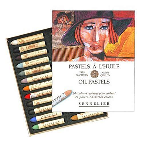 Sennelier Oil Pastel Portrait Set of 24 ()