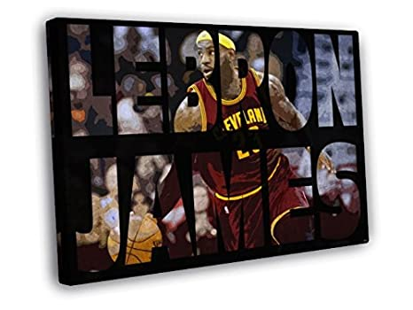 LeBron James Cleveland Cavaliers sports poster hanging wall decor US SELLER