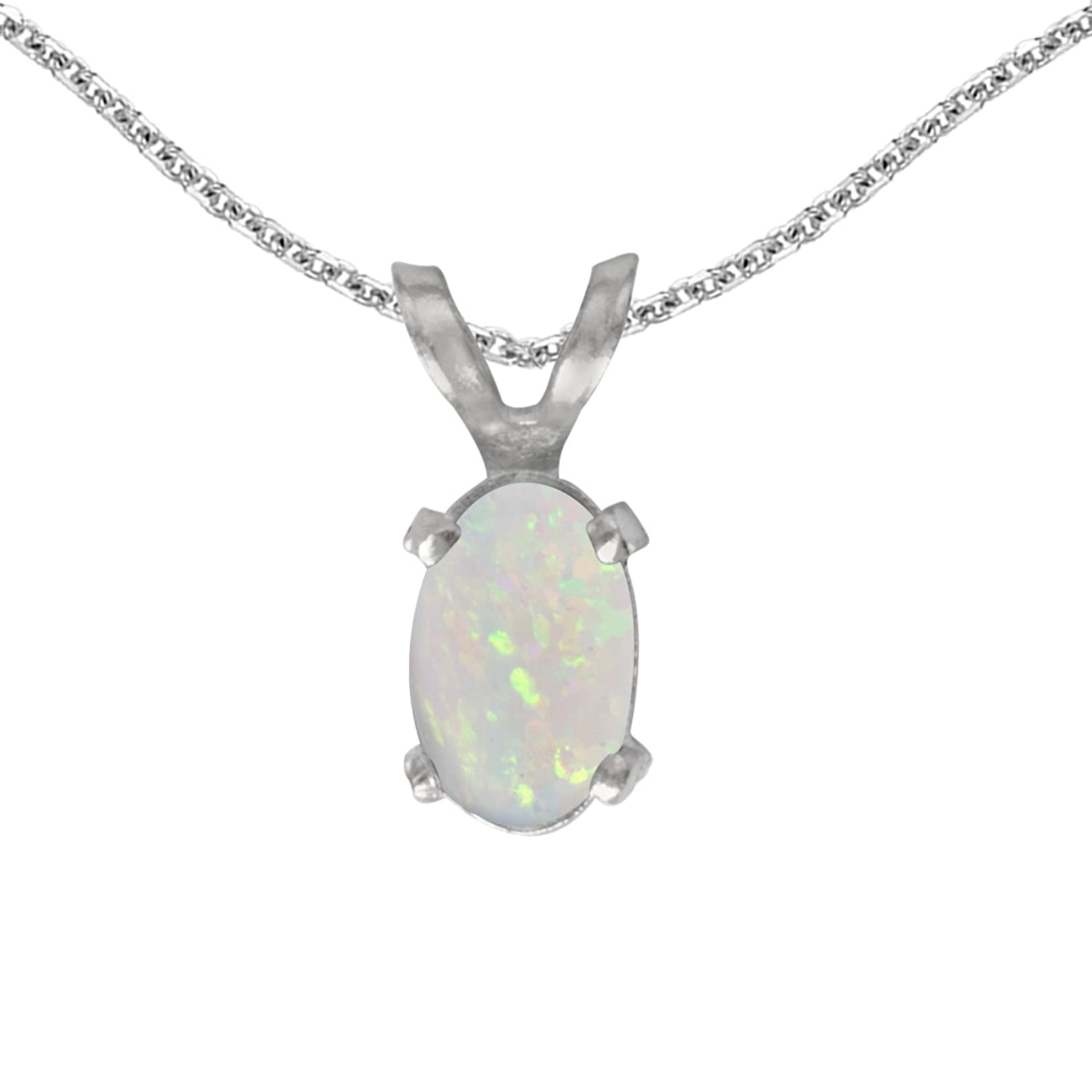 pin october bright birthstone genuine pendant libra green opal and necklace welo real red flash