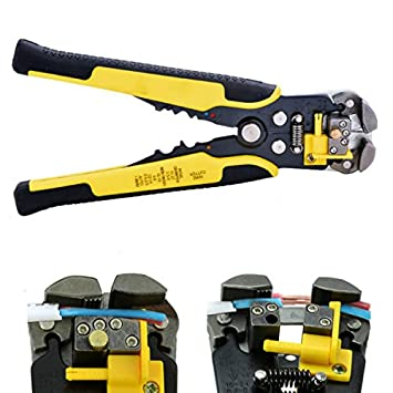 Multi Tool Wire Stripper Alicate Tools Cable Pliers Crimping Pliers Ferramentas Hand Tools Alicate Multifuncional Yellow