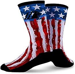 Best Online Usa Flag Custom Crew Athletic Socks Merica