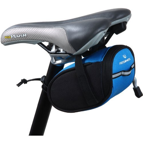 Roswheel Cycling Bicycle Bike Saddle Outdoor Pouch Back Seat Bag Blue ForeverLove