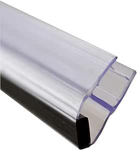 45 Degree ángulo para mampara de ducha de cierre magnético con cierre adhesivo: 1832 mm recto con cierre adhesivo: Amazon.es: Bricolaje y herramientas