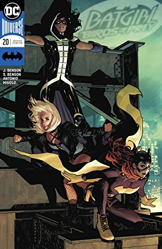 BATGIRL AND THE BIRDS OF PREY #20 VAR ED -