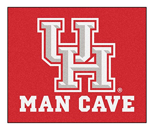 Fan Mats 17303 University of Houston Cougars 5' x 6' Man Cave Tailgater Mat by Fanmats