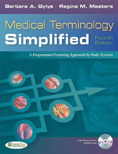 Medical Terminology Simplified: A Programmed Learning Approach by Body Systems (Text, Audio CD & TermPlus 3.0) by F.A. Davis Company