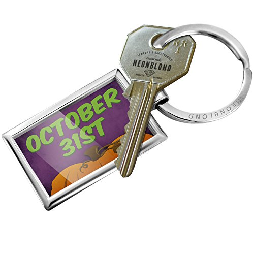 (NEONBLOND Keychain October 31st Halloween Pumpkin)