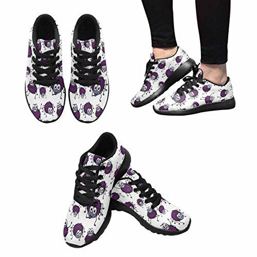 Interessante Womens Jogging Running Sneaker Leggero Go Easy Walking Comfort Sportivo Scarpe Da Ginnastica Funny Spider Multi 1