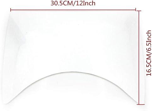 Nero Motocicletta Scompartimento del Vano Bagagli Piastra di Isolamento Scatola di Separazione Scheda Per Yamaha T-MAX 530 2017-2018