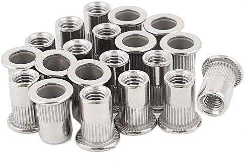 Amazon Com 20pcs 5 16 18 Rivet Nuts Stainless Steel Threaded Insert Nutsert Rivnuts 5 16 18unc Home Improvement