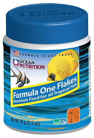 - Ocean Nutrition Formula One Flake Food 2.5oz