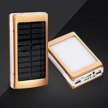 Cewaal Cargador solar Banco de energía solar Batería de ...