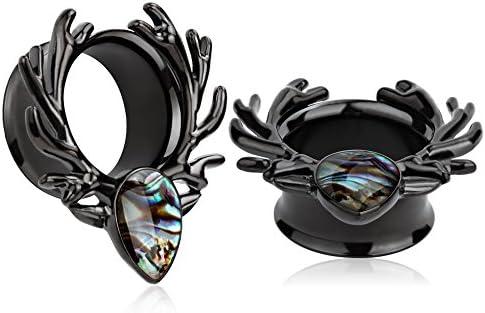KUBOOZ Sea Shell Antlers Stretcher Piercings product image