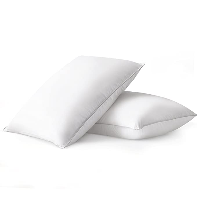 Beckham Hotel Collection Luxury Down Feather Pillow - The Strong and Durable