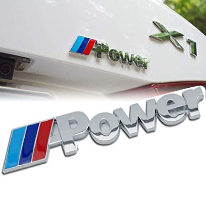 Bmw M Logo Emblem Badge For All Bmw Rear Trunk Adhesive Type