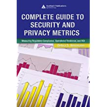 Complete Guide to Security and Privacy Metrics: Measuring Regulatory Compliance, Operational Resilience, and ROI