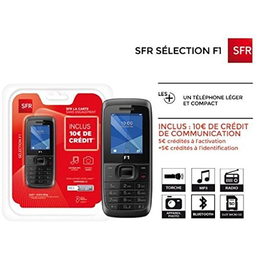 Sfr La Carte F1 Pre Payed Ready To Use Pack Amazoncouk