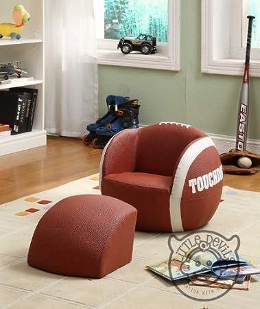 Kindersessel design  LITTLE RUGBY KINDER SESSEL Sport Design Spiel Stuhl Kinder ...
