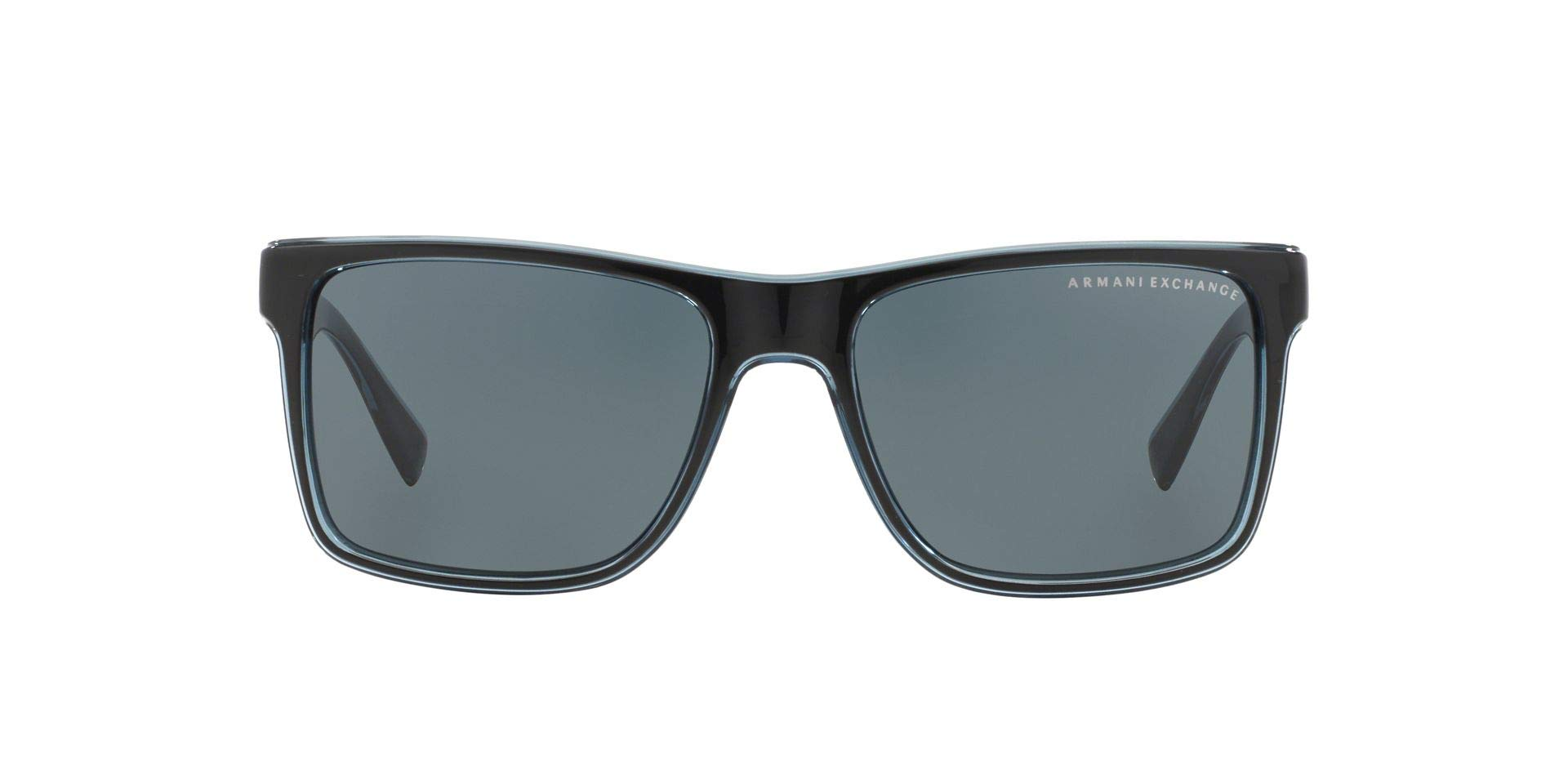 Sunglasses Exchange Armani AX 4016 805187 BLACK/TRANSP. BLUE GREY