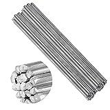 50pcs Aluminum Low Temp Welding Brazing Rod Aluminium Welding Wire Brazing Rod Propane (50cm*2.0mm)