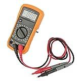 Multimeter - Delaman Handheld Digital Multimeter, Auto Ranging, with Temperature Probe, 2000 Counts Voltage, Current Tester