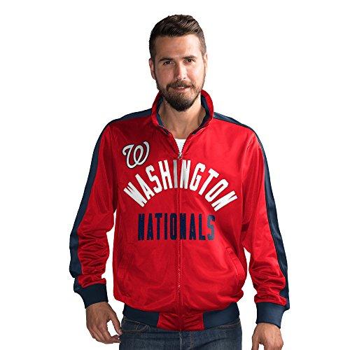 Washington Nationals g-iiiスポーツFinal 4つフルZipトラックジャケット – XXL