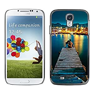 EJOY---Cubierta de la caja de protección la piel dura para el / Samsung Galaxy S4 / --AMOR POR EL MAR