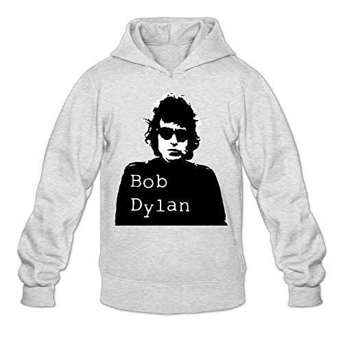PCY Men's Bob Dylan Action Figure Sweater Size XXL Ash