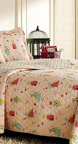 Laura Ashley Kids Fairy Princess 2 Piece Twin Bedding Set - Laura Ashley Kids Bedding