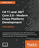 img - for C# 7.1 and .NET Core 2.0 - Modern Cross-Platform Development - Third Edition: Create powerful applications with .NET Standard 2.0, ASP.NET Core 2.0. Visual Studio 2017 or Visual Studio Code book / textbook / text book