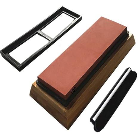 Compra Piedra para afilar cuchillos de piedra de afilar ...