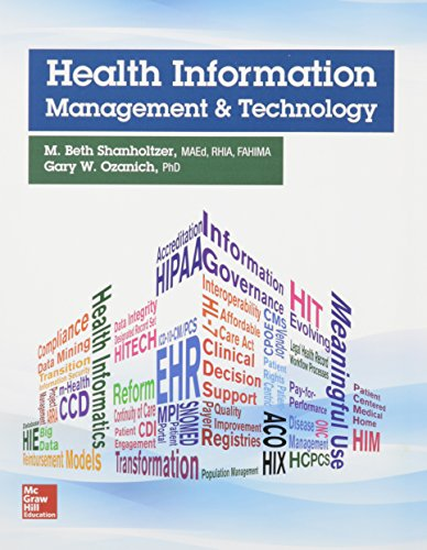 Health Information Management and Technology with Connect Access Card by McGraw-Hill Education