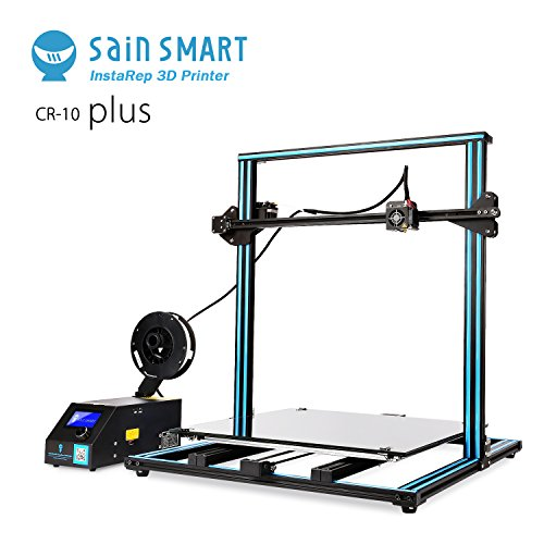 SainSmart x Creality CR-10 Plus Dual Z-axis Semi-Assembled 3D Printer, Massive Print Size 500x500x500mm