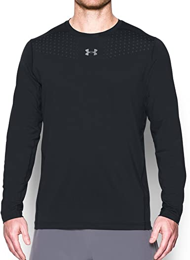 Como sed película  Amazon.com: Under Armor Men's HeatGear CoolSwitch Fitted Long Sleeve:  Clothing